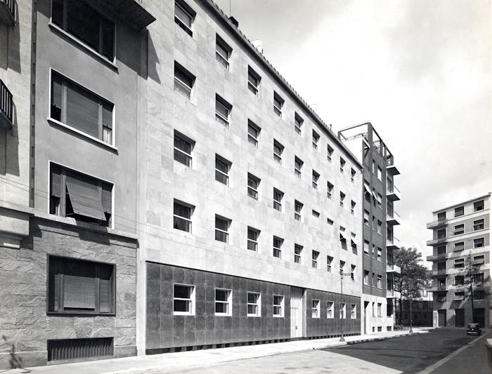 Casa d appartamenti portaluppi for Piero portaluppi